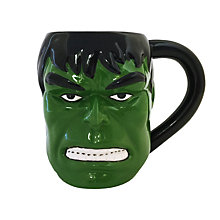 Buy Marvel Hulk Mug, Green Online at johnlewis.com