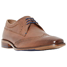 Buy Dune Rancher Derby Shoes, Tan Online at johnlewis.com
