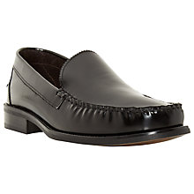 Buy Bertie Royce College Hi-Shine Leather Loafers, Black Online at johnlewis.com