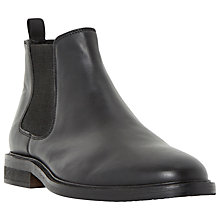 Buy Dune Monopoly Chunky Chelsea Boots, Black Online at johnlewis.com