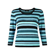 Buy Precis Petite Stripe Jumper, Multi Online at johnlewis.com