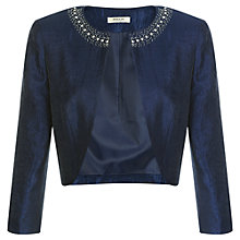 Buy Precis Petite Occasion Wear Jacket, Navy Online at johnlewis.com