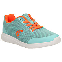 Buy Clarks Children's Sprint Zone Trainers, Blue Online at johnlewis.com