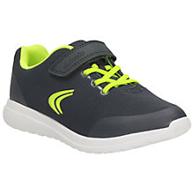 Buy Clarks Infant Sprint Free Trainers, Navy Online at johnlewis.com