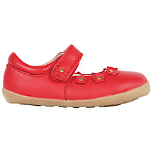 Buy Bobux Children's Dream Rip-Tape Mary Jane Shoes, Red Online at johnlewis.com