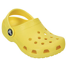 Buy Crocs Children's Classic Croc Band Clogs, Sunshine Online at johnlewis.com