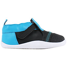 Buy Bobux Children's Xplorer Origin Shoes, Blue/Black Online at johnlewis.com