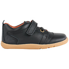 Buy Bobux Children's Echo Rip-Tape Dress Shoes, Black Online at johnlewis.com