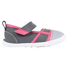 Buy Bobux Children's Hydra Leather Mix Rip-Tape Shoes, Fuchsia Online at johnlewis.com