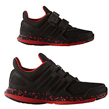 Buy Adidas Children's Hyperfast 2.0 Running Shoes, Black Online at johnlewis.com