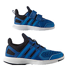 Buy Adidas Children's Hyperfast 2.0 Running Shoes, Navy/Black Online at johnlewis.com