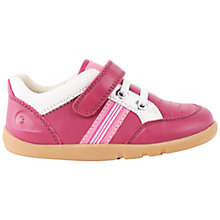 Buy Bobux Children's Racer Nappa Leather Sports Shoes, Rose Online at johnlewis.com