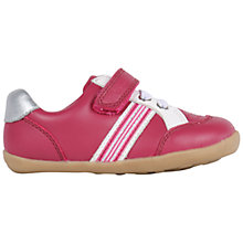 Buy Bobux Children's Leather Rip-Tape Trackside Sports Shoes, Rose Online at johnlewis.com