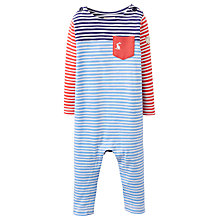 Buy Baby Joule Joly Stripe Print Sleepsuit, Multi Online at johnlewis.com
