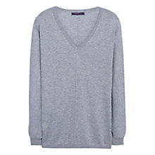 Buy Violeta by Mango Ribbed Cotton-Blend Jumper Online at johnlewis.com