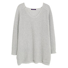 Buy Violeta by Mango Cotton Wool-Blend Jumper Online at johnlewis.com
