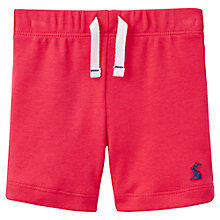 Buy Baby Joule Josh Jersey Shorts, Red Online at johnlewis.com