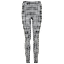 Buy Miss Selfridge Pinstripe Tube Trousers, Mid Grey Online at johnlewis.com