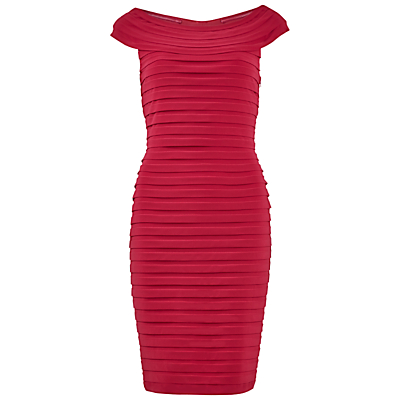 Gina Bacconi Bardot Bandage Dress
