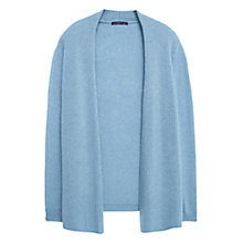 Buy Violeta by Mango Alpaca-Blend Cardigan, Aqua Online at johnlewis.com