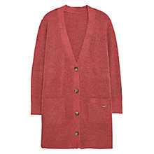 Buy Violeta by Mango Pocket Detail Cardigan, Pink Online at johnlewis.com
