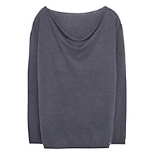 Buy Violeta by Mango Cotton-Blend Jumper Online at johnlewis.com