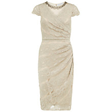 Buy Gina Bacconi Beaded Scallop Lace Dress Online at johnlewis.com