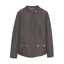 Buy Violeta by Mango Quilted Jacket, Medium Green Online at johnlewis.com