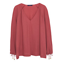 Buy Violeta by Mango V-Neck Blouse Online at johnlewis.com