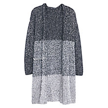 Buy Violeta by Mango Long Cardigan, Dark Grey Online at johnlewis.com