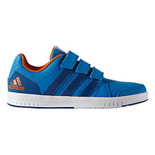 Buy Adidas Children's LK 7 Trainers, Blue Online at johnlewis.com