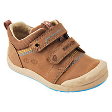 Buy Start-rite Children's Beetlebug Rip-Tape Shoes, Brown Online at johnlewis.com
