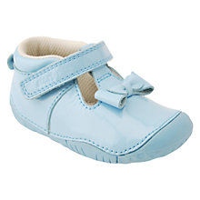 Buy Start-Rite Amelia Leather Pre Walker Shoes, Green Online at johnlewis.com