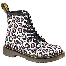 Buy Dr Martens Delaney Boots, Cream Multi Online at johnlewis.com