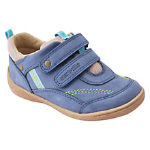 Buy Start-rite Children's Super Soft Leo Rip-Tape Shoes, Blue Online at johnlewis.com