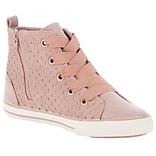 Buy John Lewis Jess Hi-Top Star Trainers Online at johnlewis.com