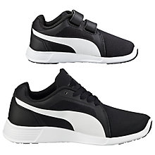 Buy Puma ST Evo V Trainers, Black/White Online at johnlewis.com