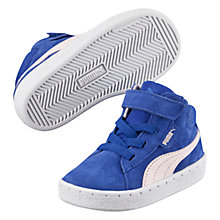 Buy Puma Children's 1948 Mid Suede Trainers, Blue Online at johnlewis.com