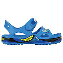 Buy Crocs Children's Finding Dory Sandals, Ocean Online at johnlewis.com
