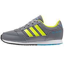 Buy Adidas Children's Switch Sports Shoes, Grey Online at johnlewis.com