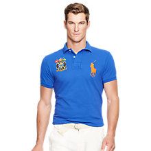 Buy Polo Ralph Lauren Slim-Fit Big Pony Polo Shirt Online at johnlewis.com