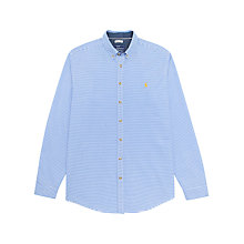Buy Joules Talbot Classic Stripe Long Sleeve Shirt, Ocean Stripe Online at johnlewis.com