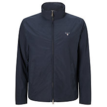 Buy Gant Mid Length Jacket with Foldaway Hood, Navy Online at johnlewis.com