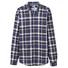Buy Joules Forester Classic Check Shirt, Navy Online at johnlewis.com