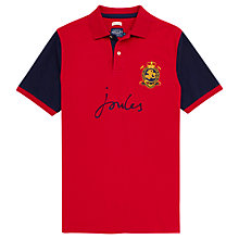 Buy Joules Kingsfield Classic Fit Polo Shirt, Red Online at johnlewis.com