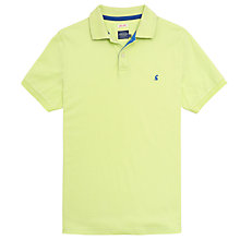 Buy Joules Woody Polo T-Shirt, Neon Lime Online at johnlewis.com