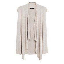 Buy Violeta by Mango Wool-Blend Vest, Natural White Online at johnlewis.com