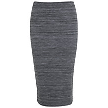 Buy Miss Selfridge Space Dye Pencil Skirt, Grey Online at johnlewis.com
