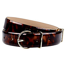 Buy Hobbs Kendal Belt, Tortoise Shell Online at johnlewis.com