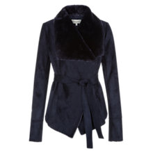Buy Hobbs Irah Jacket, Navy Online at johnlewis.com